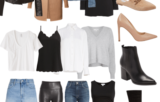 Intentionally buying starts with editing your wardrobe to make sure you have all the wardrobe essentials. Head to the blog to get all my tips for purging your closet and filling in the gaps where necessary. #wardrobeedit #intentionallybuying #wardrobeessentials