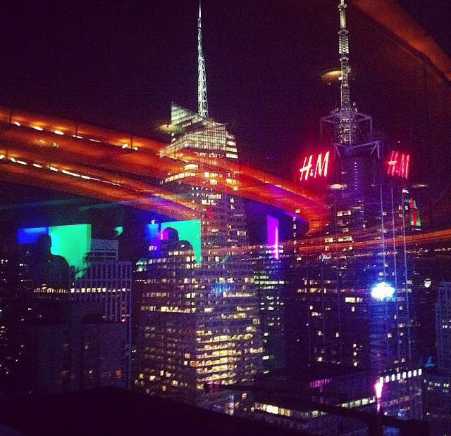 A very tourist hot spot but I do love it is the View lounge in Times Square.