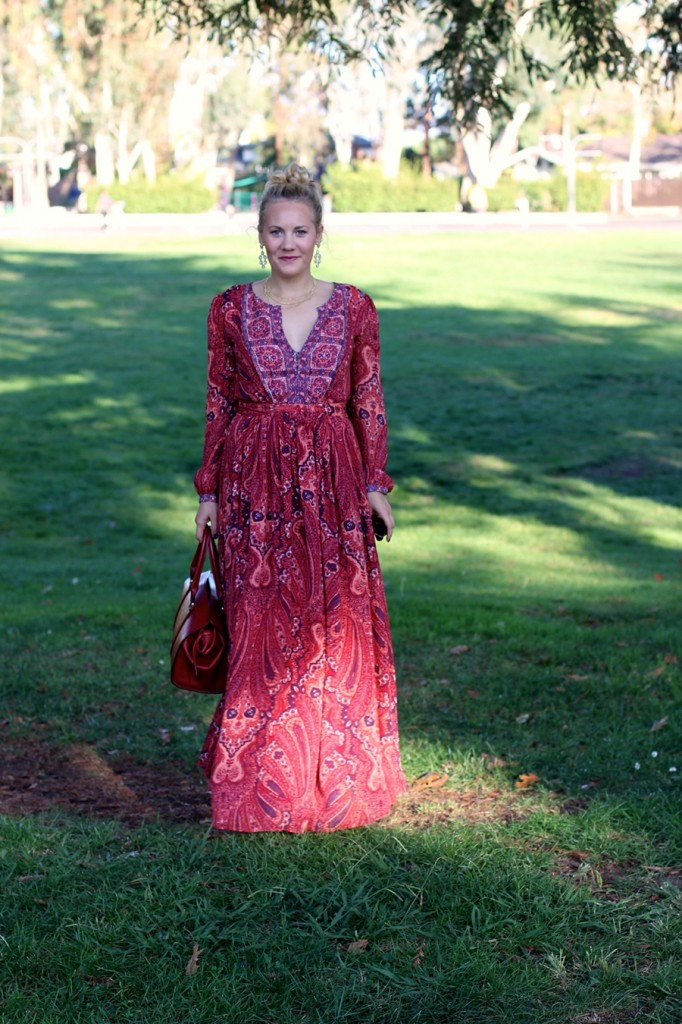 Joie Molly Maxi Dress-Fall Floral-Floral Joie Maxi Dress-Outfit Inspiration-Fashion Blogger-SF Fashion Blogger-Rent the Runway-Unlimited-Rocksbox-Jewelry Subscription-Have Need Want 8