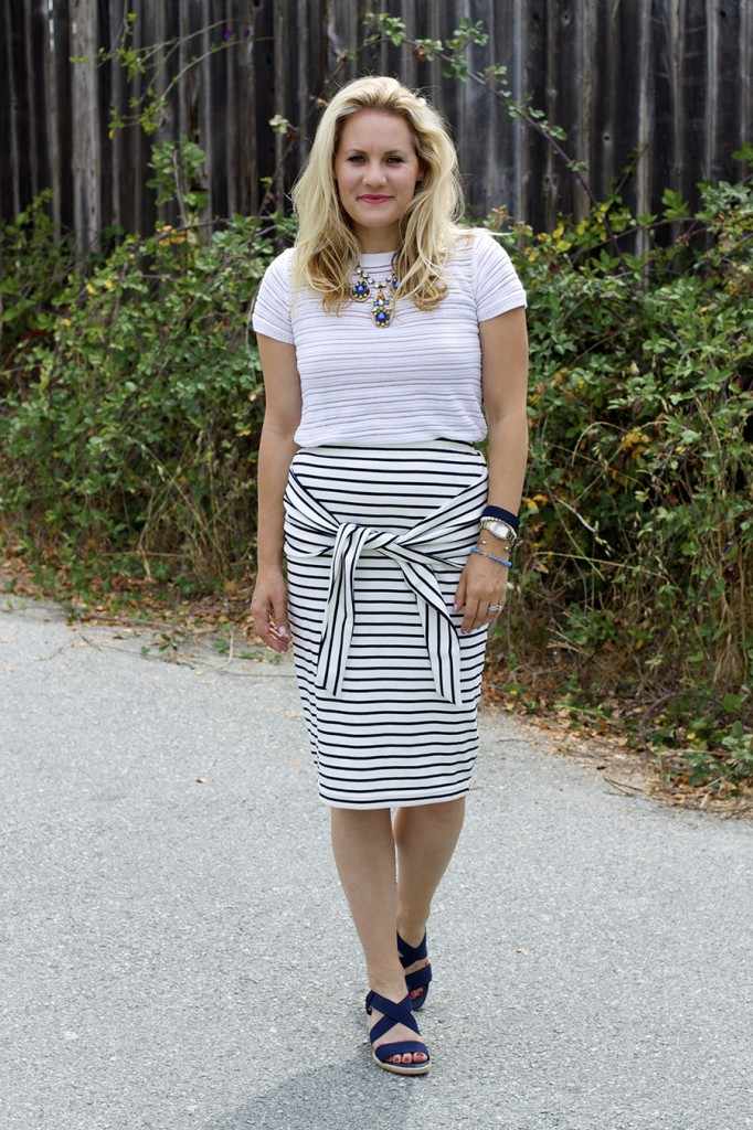 Kingdom & State Joie Clothing Summer Style Stripes on Stripes Target Style Fashion Blogger Bay Area 2