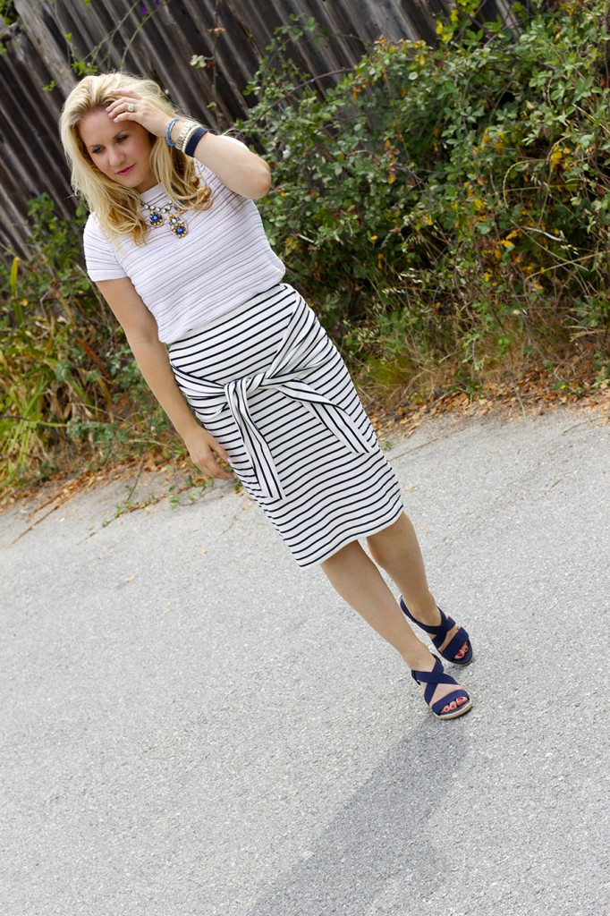 Kingdom & State Joie Clothing Summer Style Stripes on Stripes Target Style Fashion Blogger Bay Area