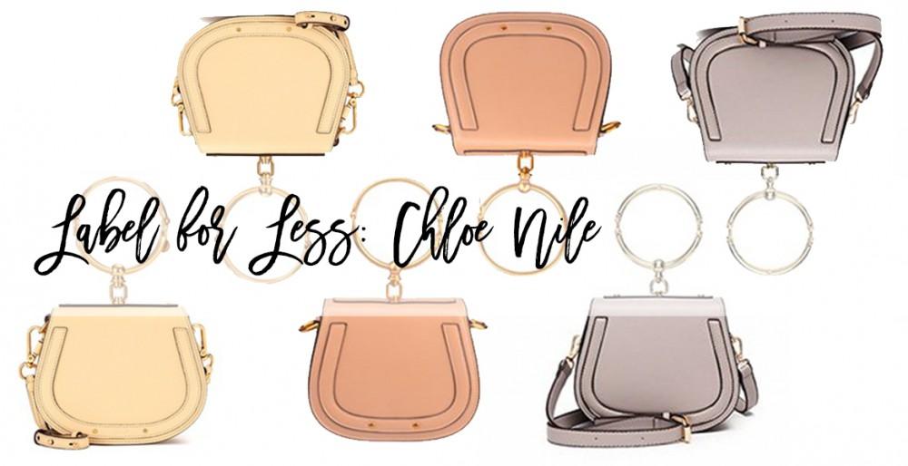 Label for Less: Chloe Nile Bracelet Bag