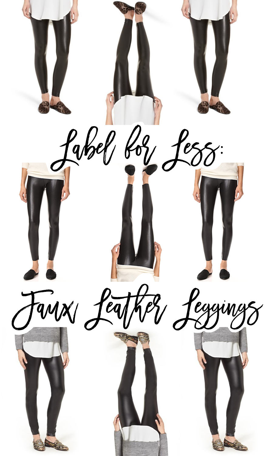 Label for Less Faux Leather Leggings, Spanx Faux Leather Leggings, Fitness Leggings, Fashion Leggings, Have Need Want