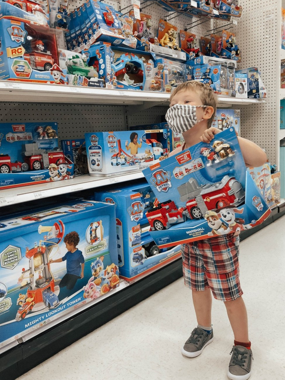 Sharing a major parenting tip to help stop in-store meltdowns from occurring when you can't buy your toddler a toy they want. Click on over to read the post! #parentingtip #parentingwin #toddlertips #raisingkids