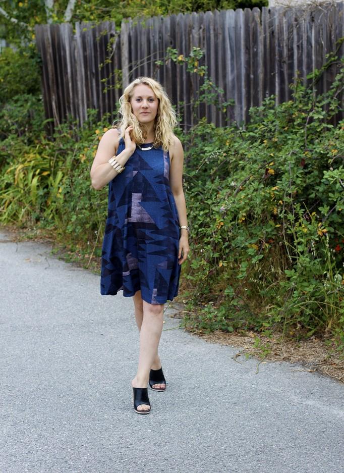 mara hoffman sleeveless swing dress Mara Hoffman Summer Swing Dress Sleeveless Dress Fashion Blogger SF Based Fashion Blog 4