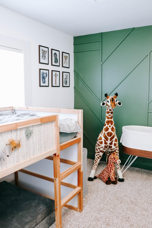 Mason and Cooper's shared brother bedroom safari decor
