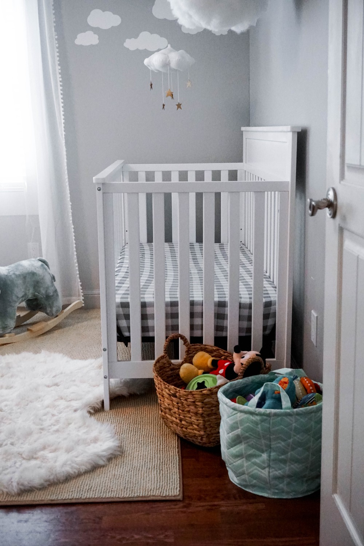 Mason's Updated Nursery Reveal-Carter's for DaVinci Crib-Target Home-Have Need Want-Nursery Room Design-Baby Boy Nursery 11