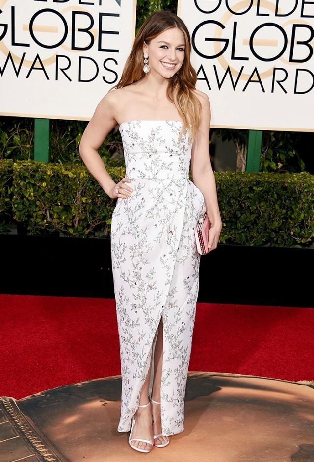 Melissa Benois-Monique Lhuillier-Golden Globes 2016