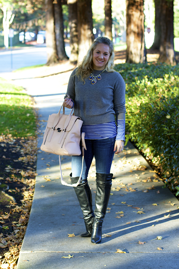 Monday Blues, Sole Society, My Sole Society, Work Week, Fashion Blogger, SF Blogger, Layering, over the knee boots, Target Style
