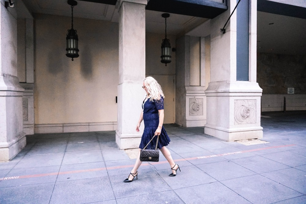 Navy Lace Dress-Draper James-Outfit Inspiration-Santana Row-Draper James Dress-Have Need Want 13