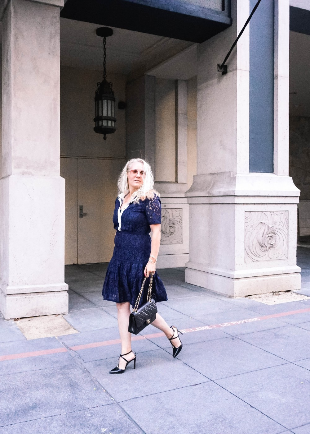 Navy Lace Dress-Draper James-Outfit Inspiration-Santana Row-Draper James Dress-Have Need Want 5