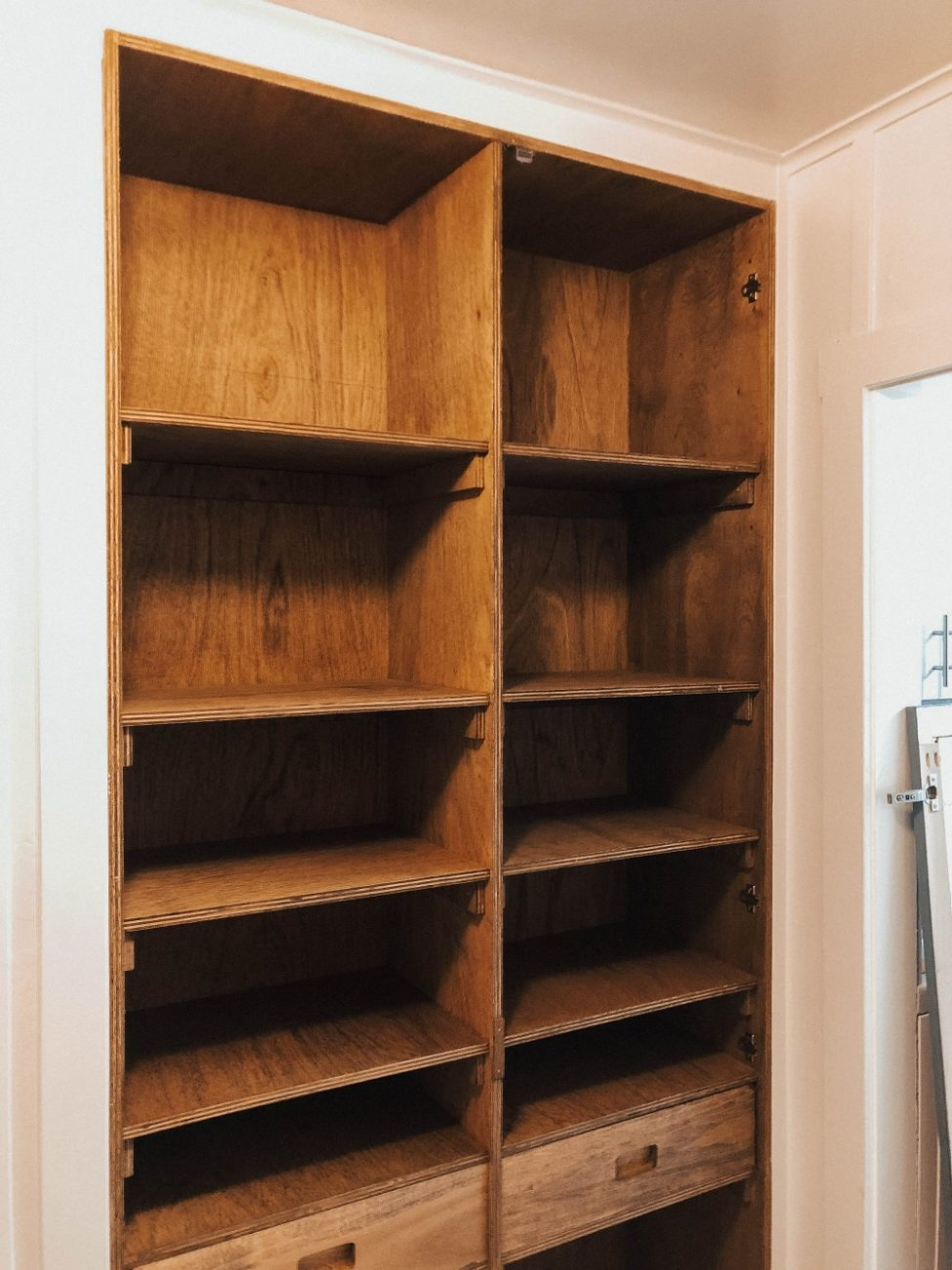 Sharing our latest home DIY pantry and small room transformation on Have Need Want. Click over to the blog to check it out! #homediy #diyproject #pantryremodel #roomtransformation