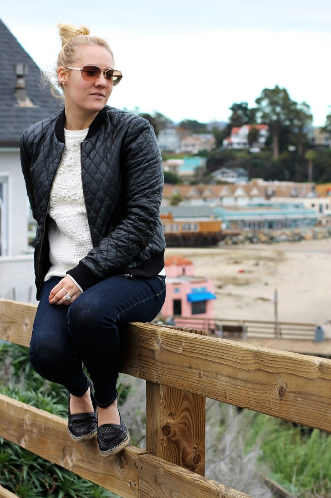 Nicole Miller-Leather Bomber Jacket-Off Duty Style-Outfit Inspiration-Have Need Want-Bay Area Fashion Blogger-Fashion Blog-Santa Cruz-Weekend Outfit Inspiration-Tibi Sweater 3
