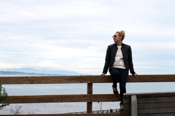 Nicole Miller-Leather Bomber Jacket-Off Duty Style-Outfit Inspiration-Have Need Want-Bay Area Fashion Blogger-Fashion Blog-Santa Cruz-Weekend Outfit Inspiration-Tibi Sweater 5