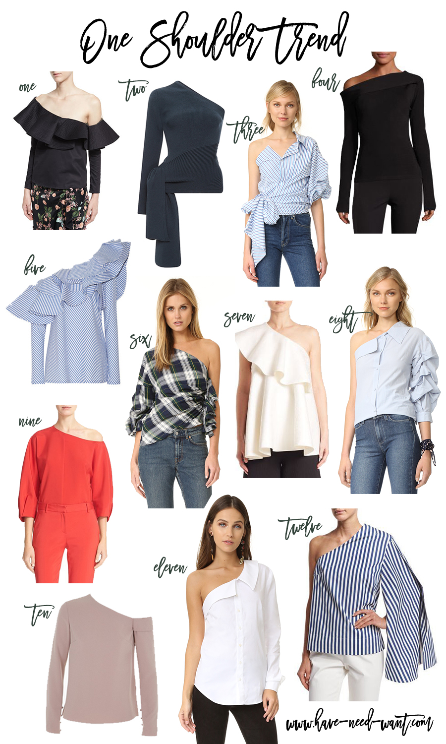 one-shoulder-trend-one-shoulder-tops-fall-2016-trend-one-sleeve-top-large-ruffle-top