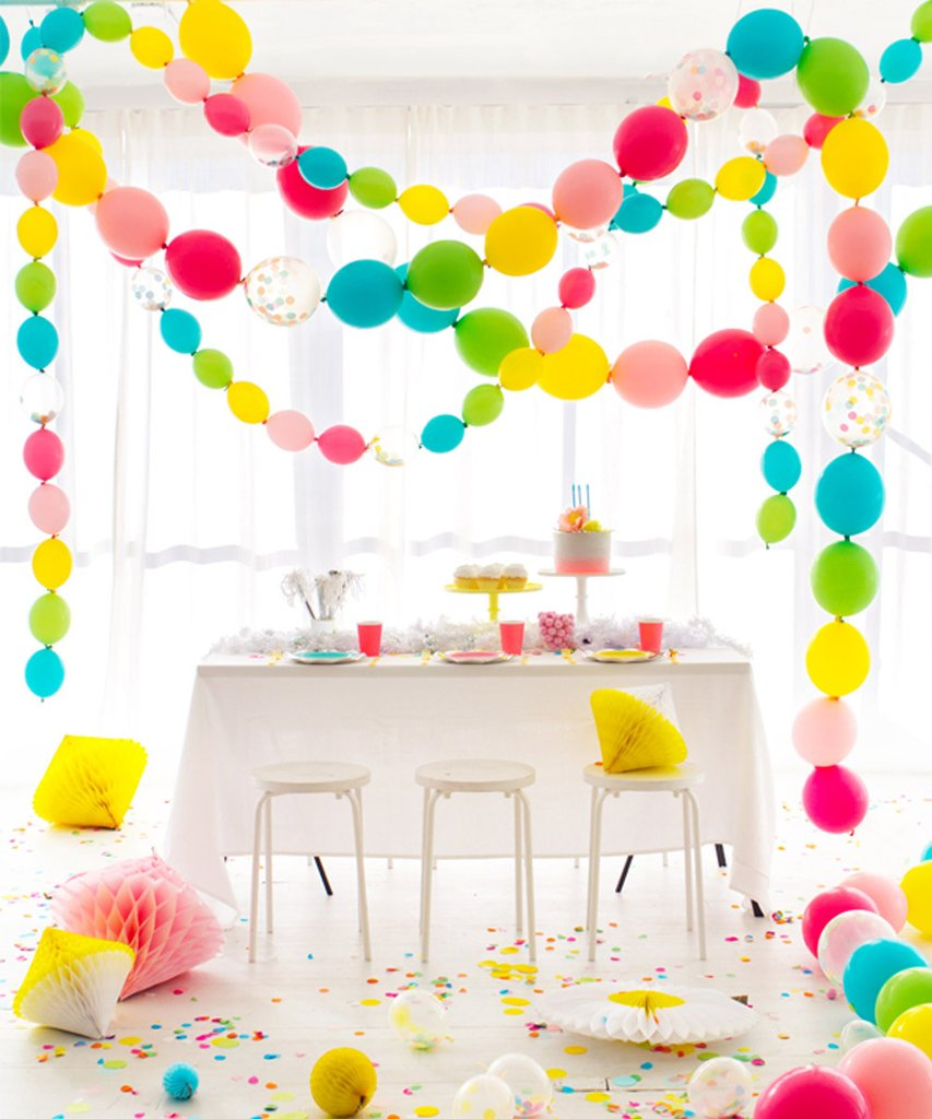 Party Planning Mason's First Birthday Party-Bright Color Birthday Party