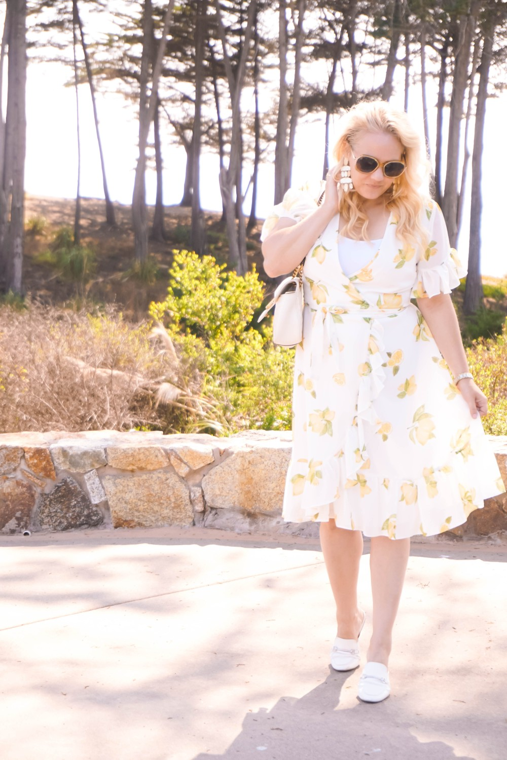Rachel Parcell Collection Lemon Wrap Dress, Lemon Print Dress, Summer Style, Outfit Inspiration, Have Need Want