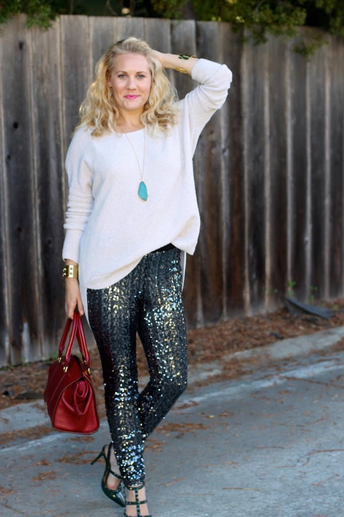 Sequin Pants-Holiday Outfit Inspiration-Have Need Want-Fashion Blogger-BB Dakota-Valentino-Burberry-Bay Area Fashion Blogger 8