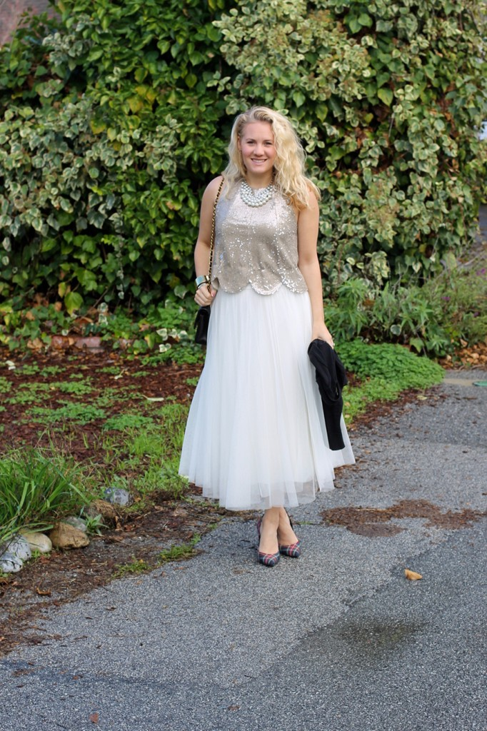 Sequins and Tulle-Holiday Outfit Ideas-Bay Area Fashion Blogger-Have Need Want-Holiday Party Outfit-Outfit Inspiration