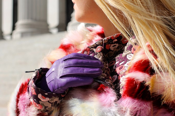 NYFW Street Style, Faux Fur Jacket, Giamba, FW16 Street Style, Bloggers at Fashion Week, Fashion Week Street Style