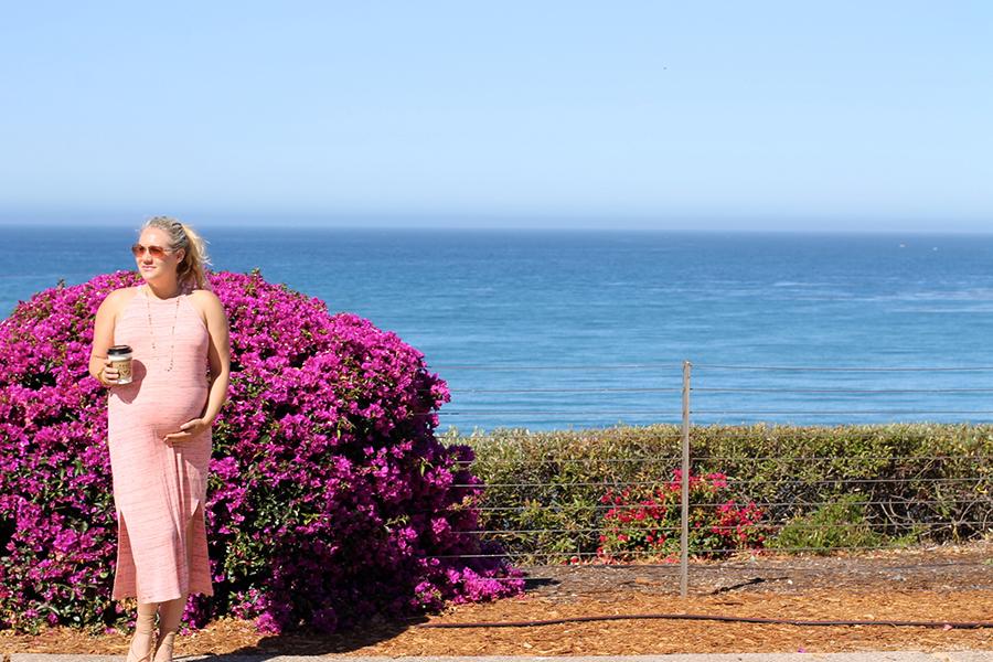 Splendid LA-Maternity Style-Have Need Want-Midi Dress 2