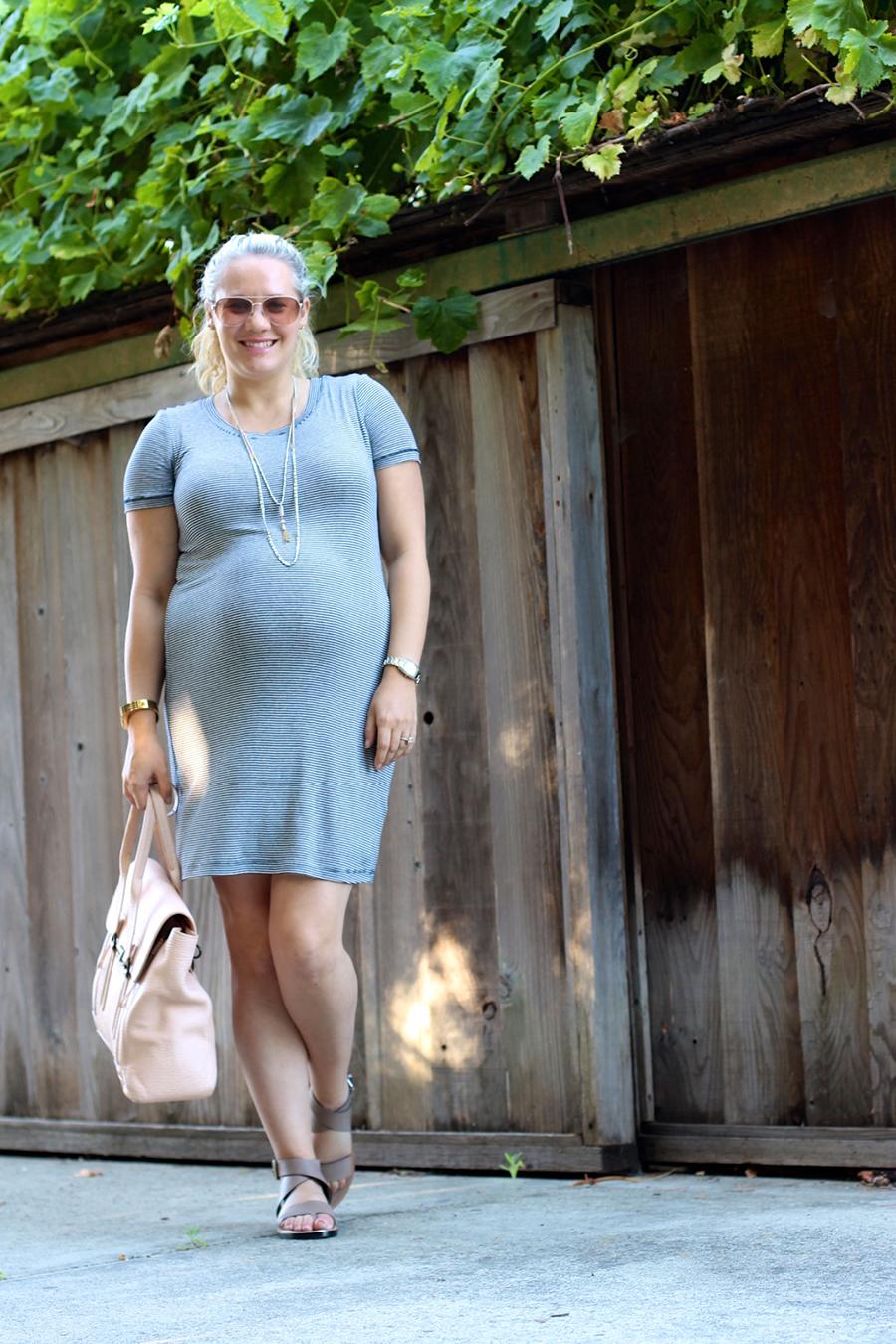 Splendid Stripe Shirt Dress-4th of July-Have Need Want-Maternity Style
