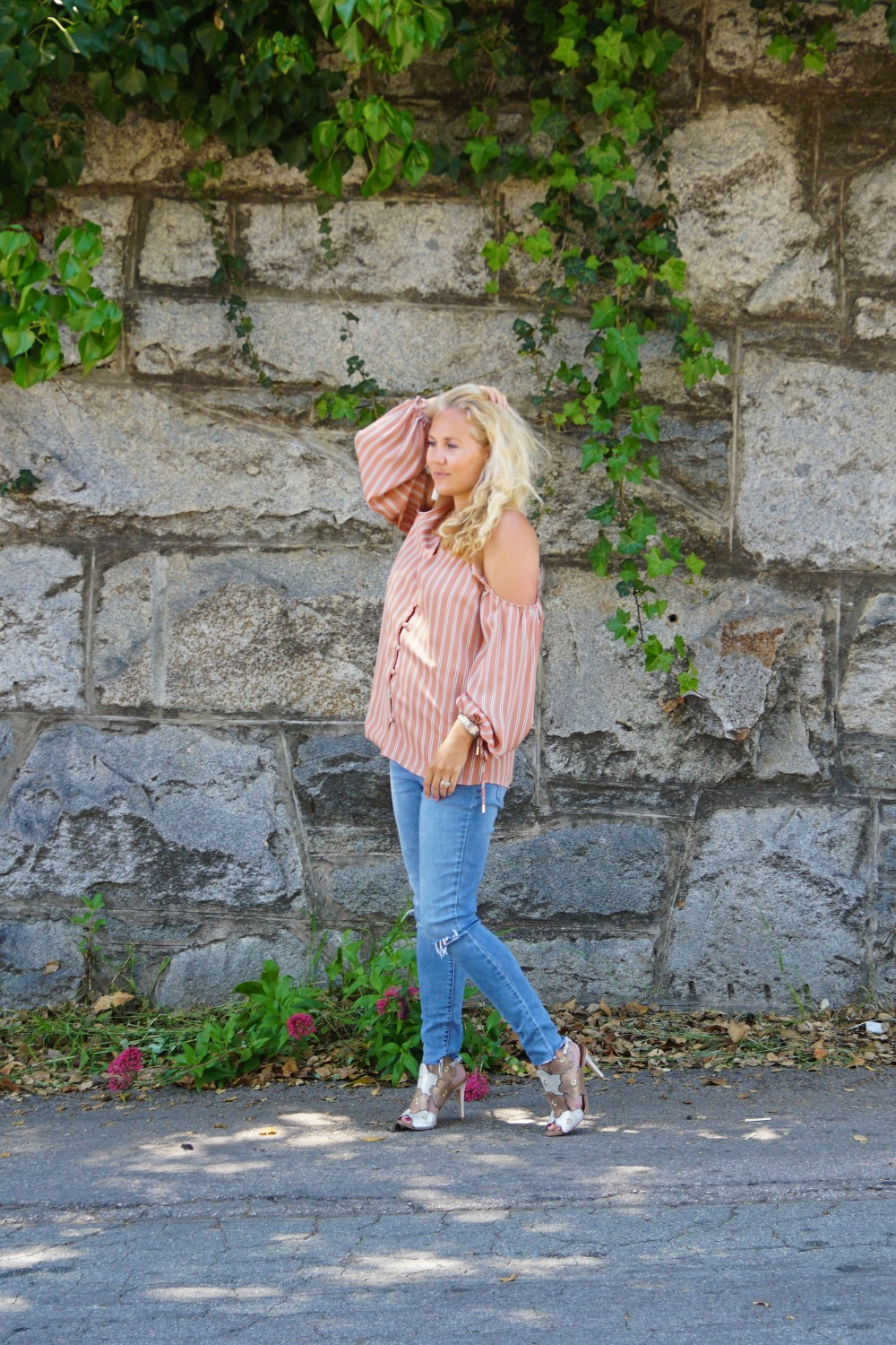 Stripe cold shoulder top-cold shoulder trend-spring style-outfit inspiration-have need want 11