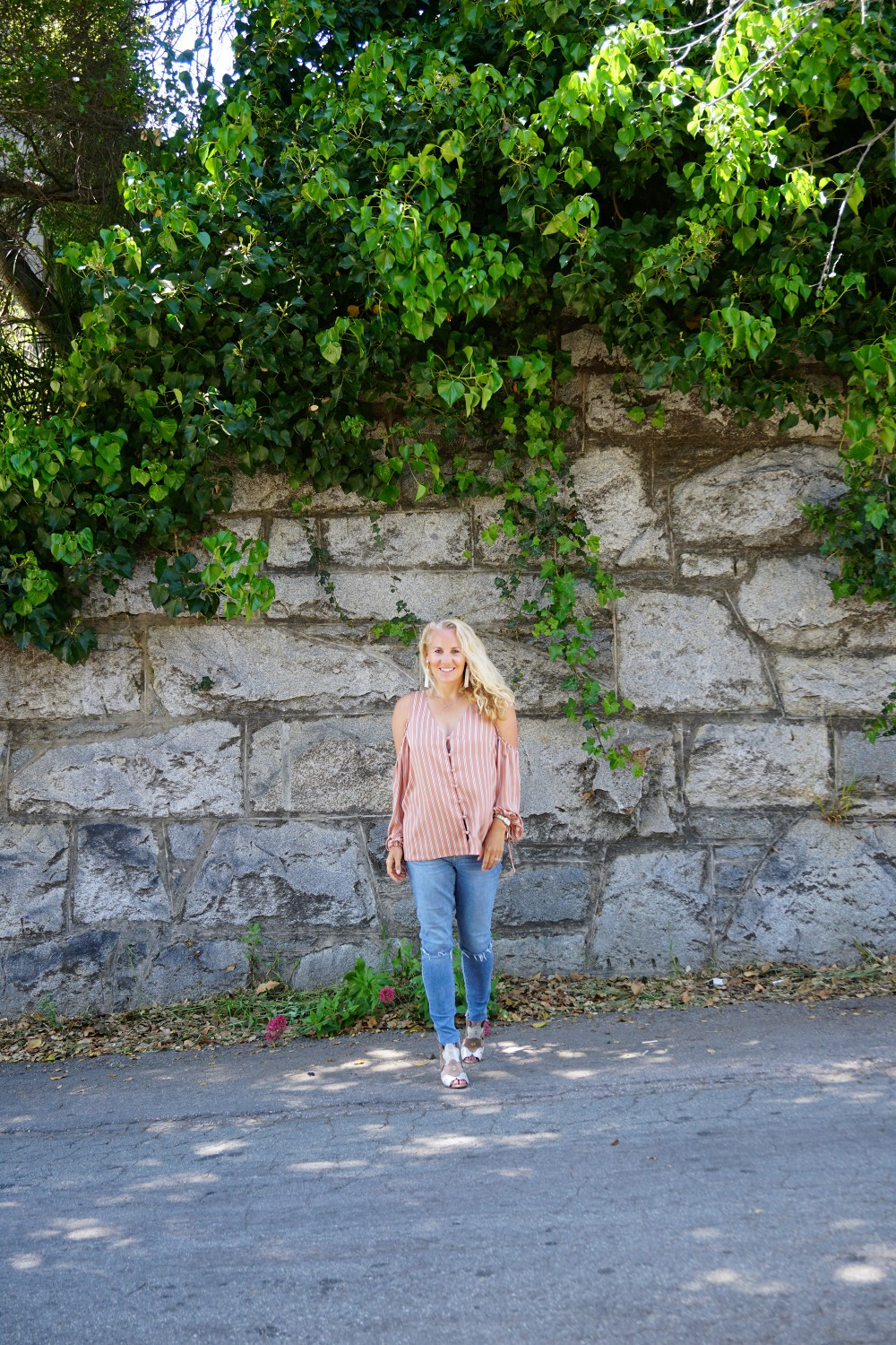 Stripe cold shoulder top-cold shoulder trend-spring style-outfit inspiration-have need want 5