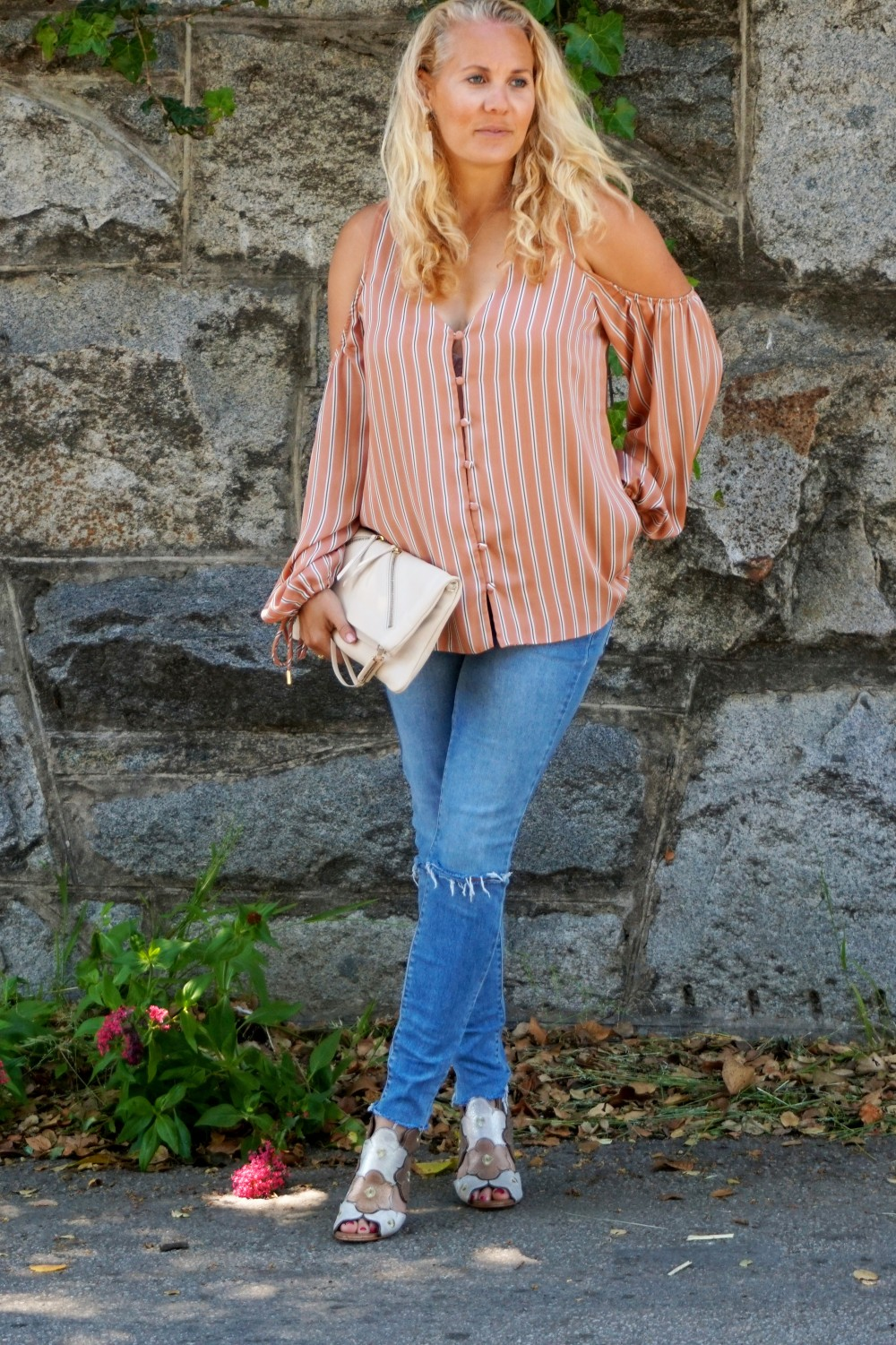 Stripe cold shoulder top-cold shoulder trend-spring style-outfit inspiration-have need want 9