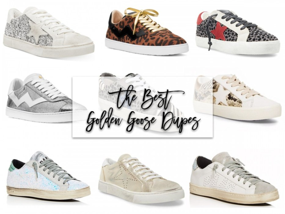 The best Golden Goose inspired sneakers #goldengoose #designerinspired