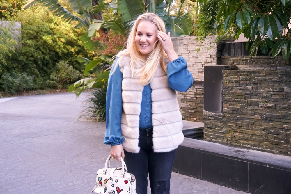 The Faux Fur Vest You Need This Winter, Target A New Day Faux Fur Vest, Mom Style, Outfit Inspiration, Winter Style, Have Need Want