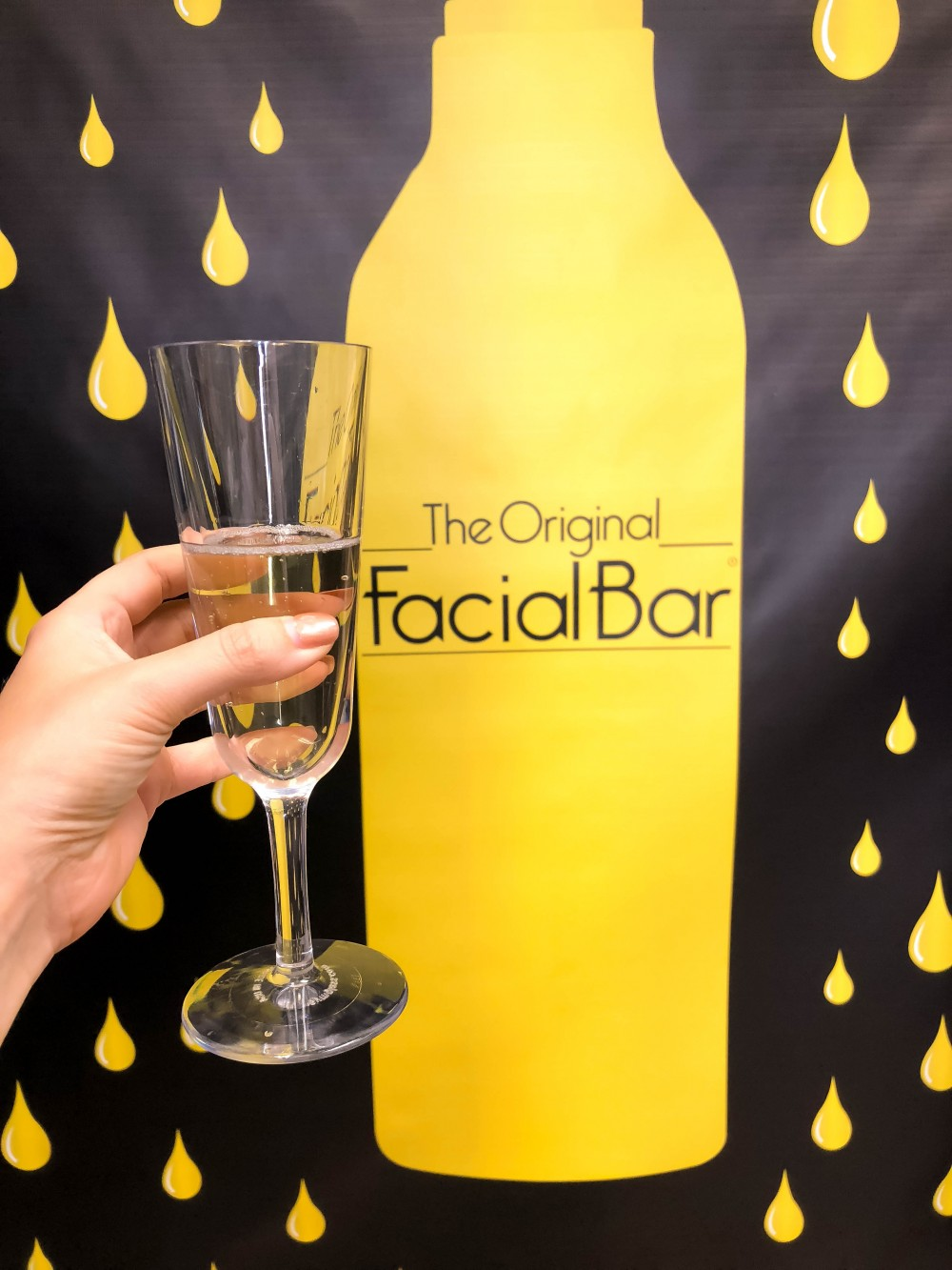 The Original Facial Bar Blogger Event Recap, Skincare, Facial Bar, Magnetic Mud Mask, Green Slime Lifting Mask, Oxygen Facial Treatment, Have Need Want