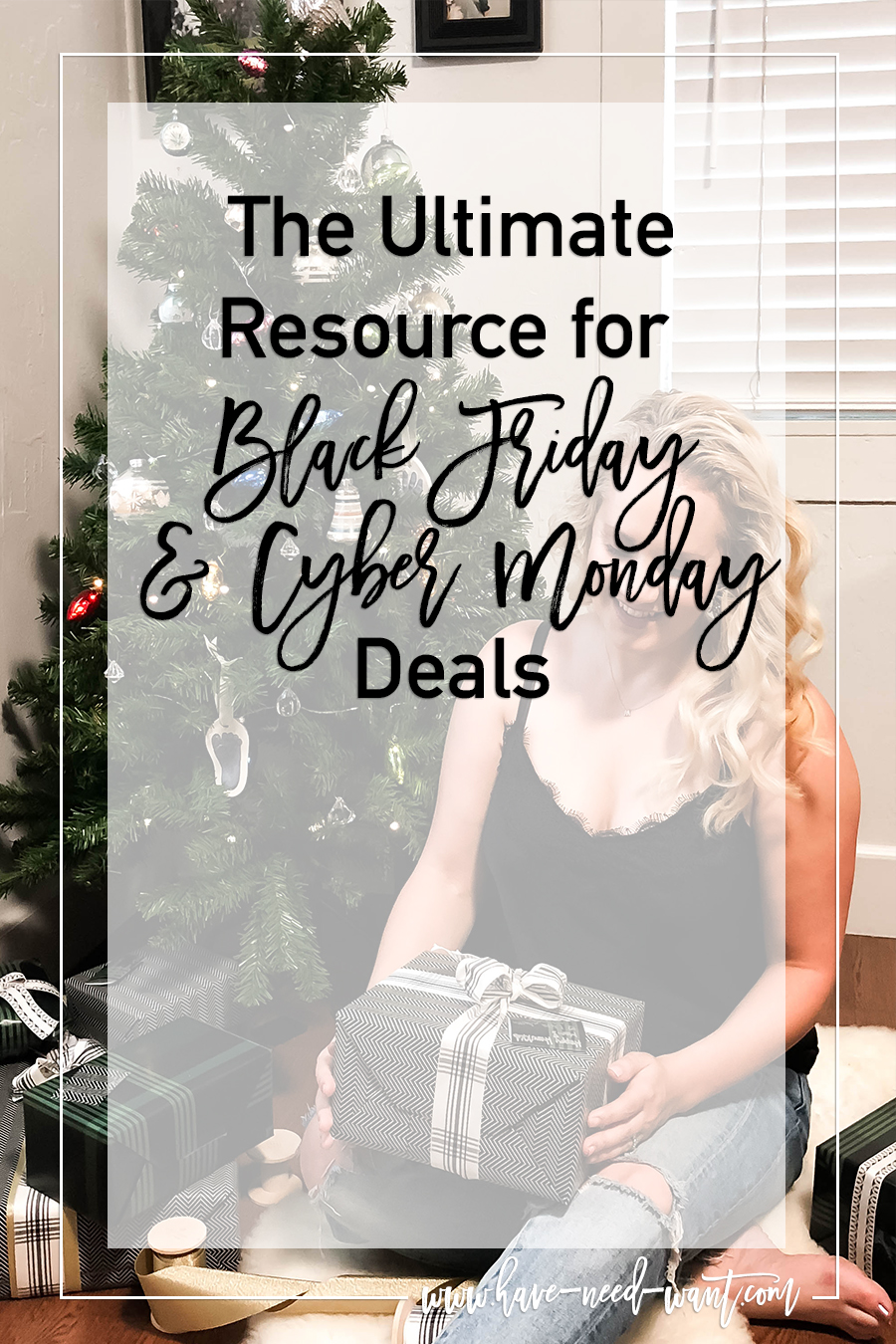 The Ultimate Resource for Black Friday and Cyber Monday Deals - One Stop Resource for all Your Holiday Shopping Needs This Black Friday + Cyber Monday - Have Need Want #Blackfriday #Cybermonday #HolidayShopping #HolidaySales