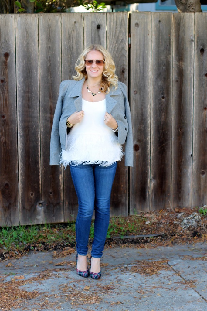 Tibi-Feather Top-Outfit Inspiration-Winter Style-Charles David- Winter Style with ShoeBuy 10