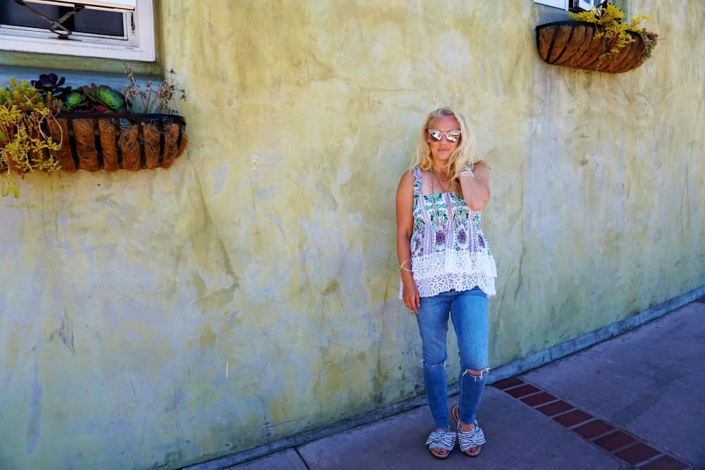 Tiered Babydoll Top-Lace Trim Silk Georgette Top by Tory Burch-Spring Outfit Inspiration-Bay Area Fashion Blogger-Weekend Style-Have Need Want 11