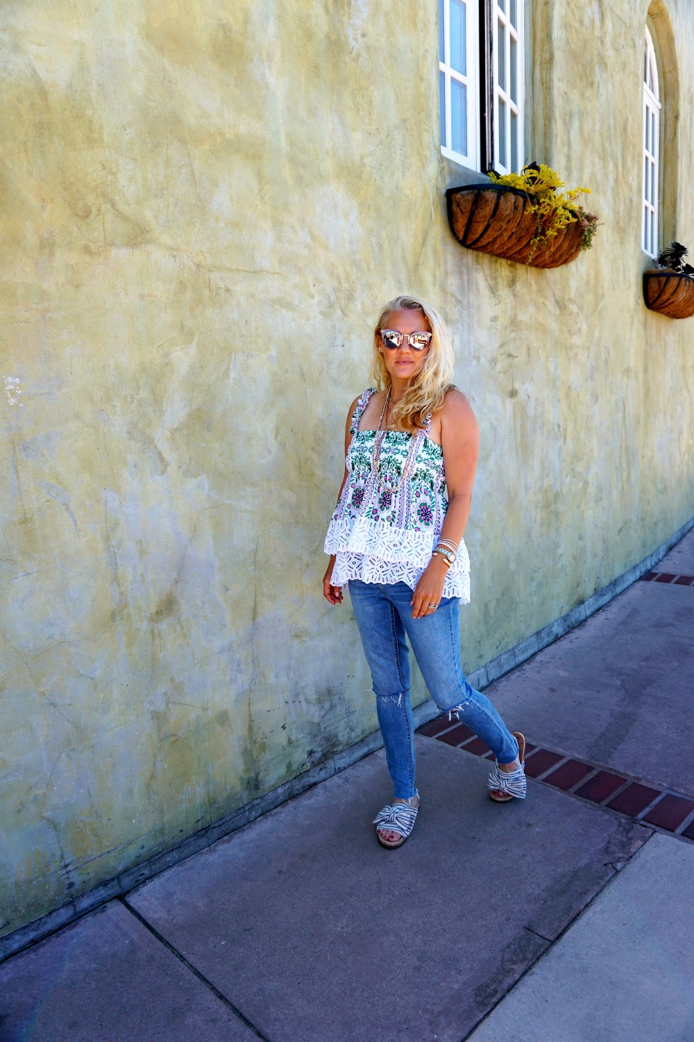 Tiered Babydoll Top-Lace Trim Silk Georgette Top by Tory Burch-Spring Outfit Inspiration-Bay Area Fashion Blogger-Weekend Style-Have Need Want 6