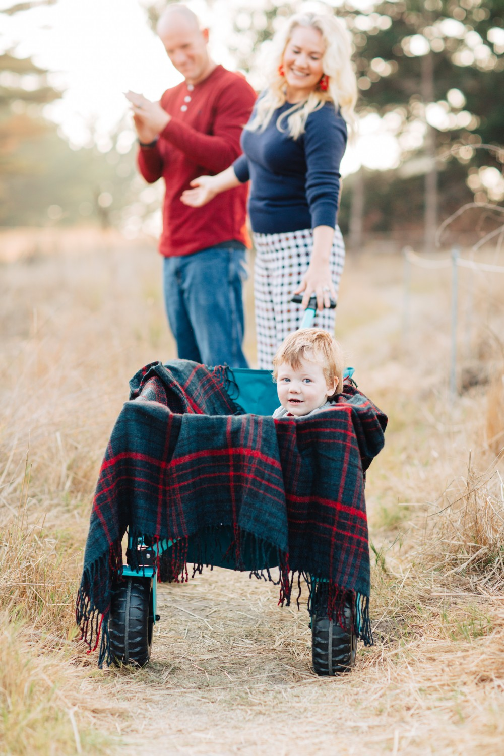 Family Holiday Card Photoshoot Toddler Boy Photo Inspiration - Have Need Want