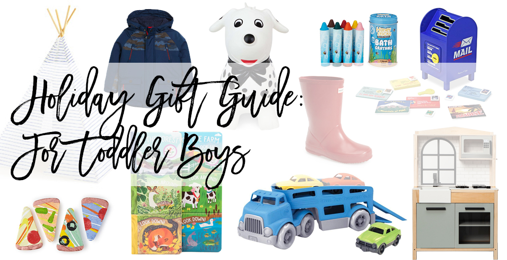 Gift Ideas for Toddler Boys - Everything from toys to spark creativity to the perfect rainbows for puddle jumping in style - Have Need Want