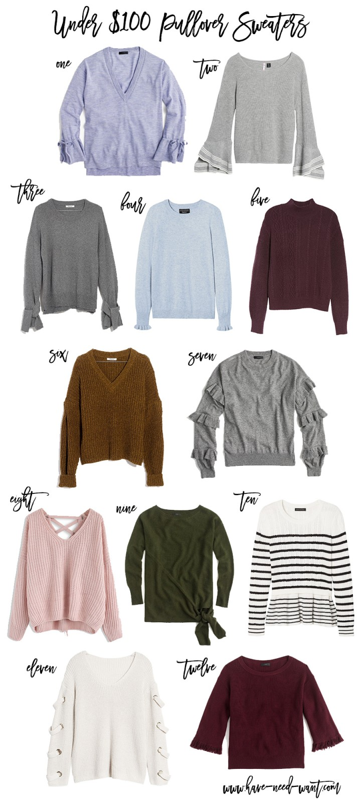 Under $100 Pullover Sweaters, Fall Style, Fall Sweaters, Pullover Sweaters, Sweaters Under $100