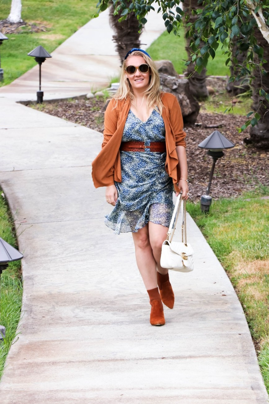 The cutest under $20 date night dress is on the blog today! Head to the post to get all my outfit details and where to shop this adorable dress! #springstyle #datenightoutfit #datenightdress #outfitinspo #outfitideas #stylingtips