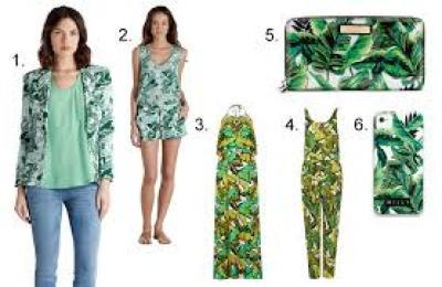 banana palm leaf trean
