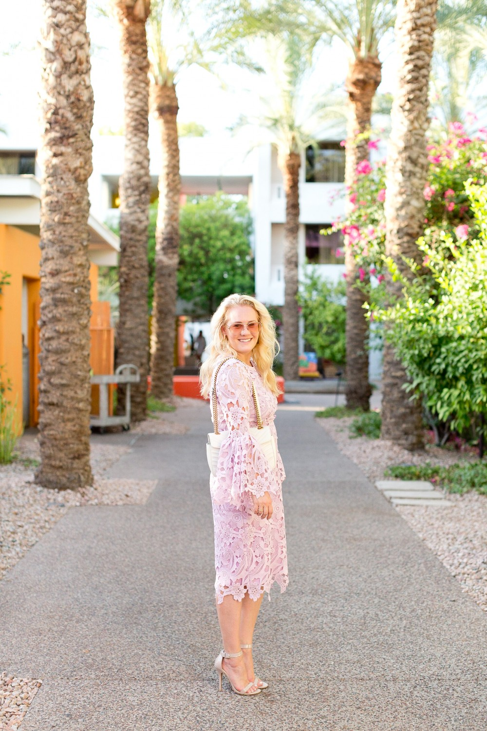 Wedding Guest Ready in the Perfect Lilac Lace Dress - Have Need Want