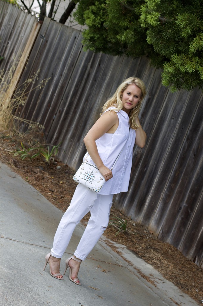 White on White Les Mechantes Summer Style Outfit Ideas ACE Target Style Fashion Blogger 3
