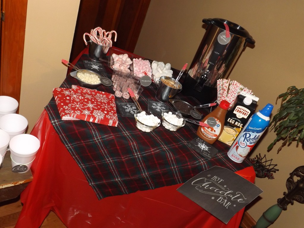 Warm Up with Hot Cocoa Bar