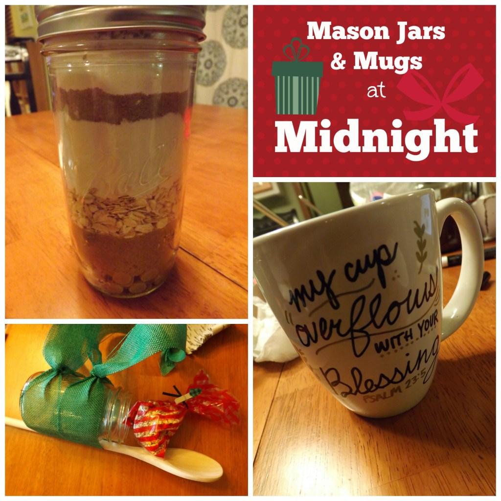 mason jars & mugs