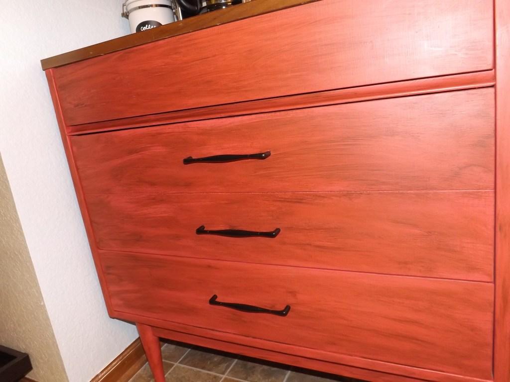 Dresser front