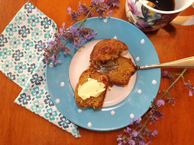 Farm to Table Rhubarb Muffins