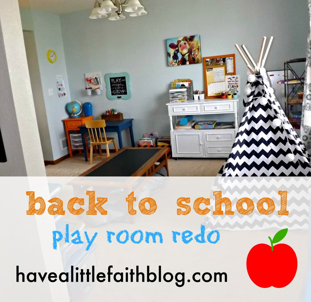 Back to School with a Play Room Switcheroo