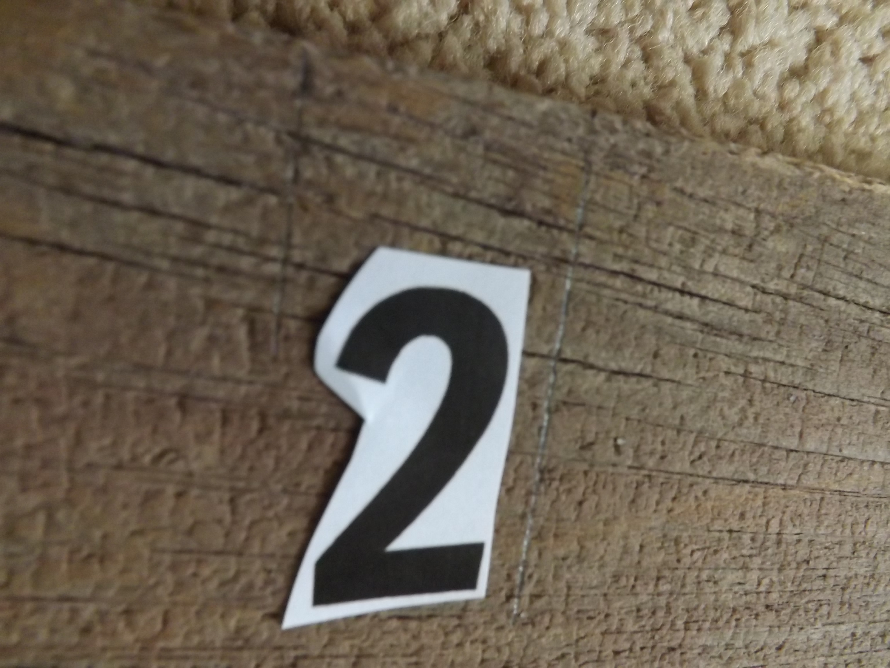Diy barn board growth chart have a little faith blog shop i also wanted to create smaller tick lines for counting in between quarter and half inch marks between the feet markings so i used the same length for each biocorpaavc