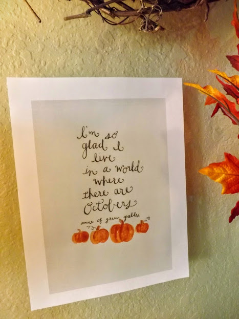 window and October quote